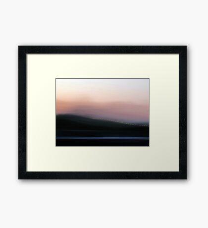 Time in Motion #2 Framed Print