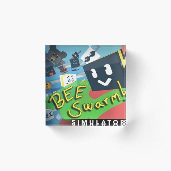 Bee Swam Simulator Acrylic Block