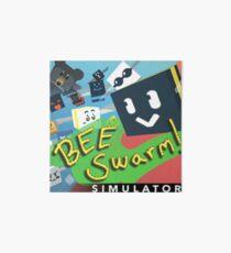 Bee Swam Simulator Art Board Print