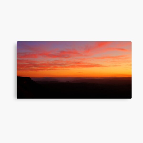 Megalong Valley, NSW. Canvas Print