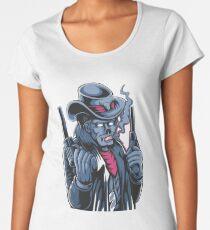 Funny Zombie Skull Women's Premium T-Shirt