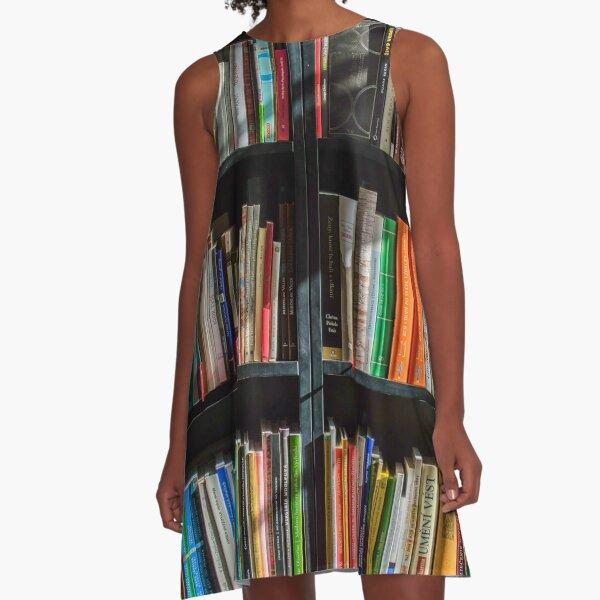 Bookshelves (#2) A-Line Dress