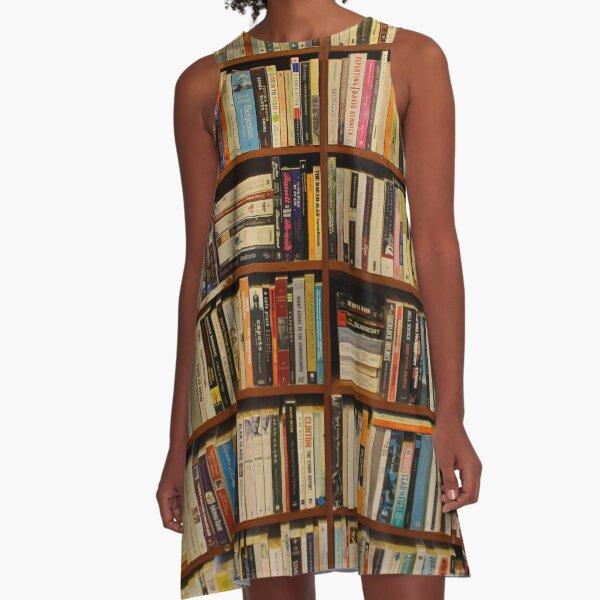 Bookshelves (#3) A-Line Dress