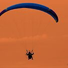 Motor paragliding. by Jaime Cifuentes