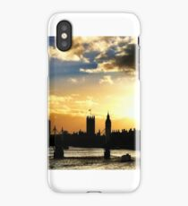Sunset over the Thames iPhone Case