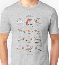 Vulpes True Foxes Unisex T-Shirt