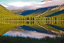 Upper Twin Lake, Beaverhead County, Montana by Bryan D. Spellman