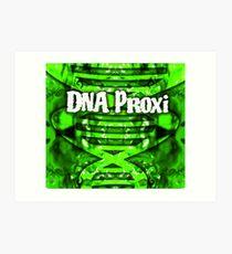 DNA Proxi Double Helix  Art Print