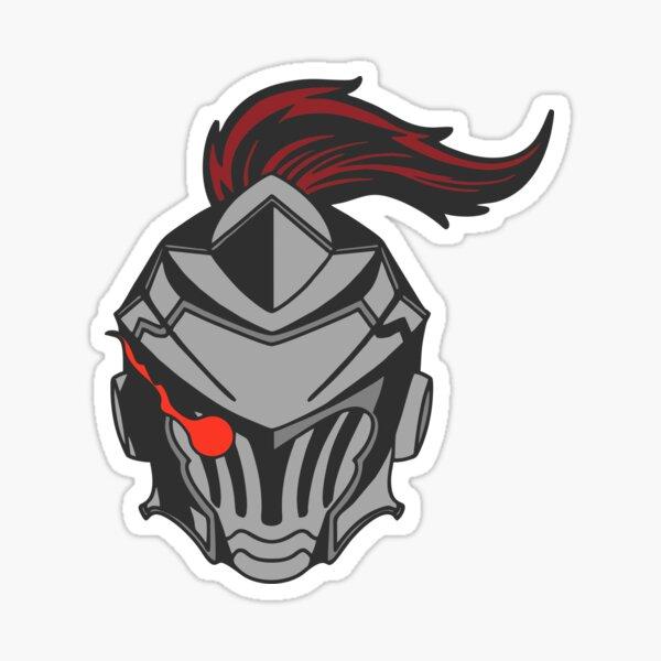 Goblin Slayer helmet Sticker