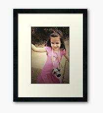 Daydreaming Framed Print