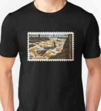 John Wesley Powell 6 Cent US-Briefmarke Slim Fit T-Shirt