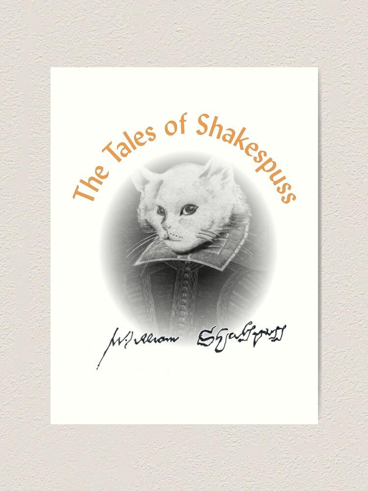 Alternate view of William Shakespuss Art Print