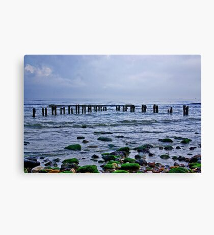 Early Morning - Sandsend Canvas Print