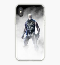 Fortnite Skull Trooper Smoke iPhone Case