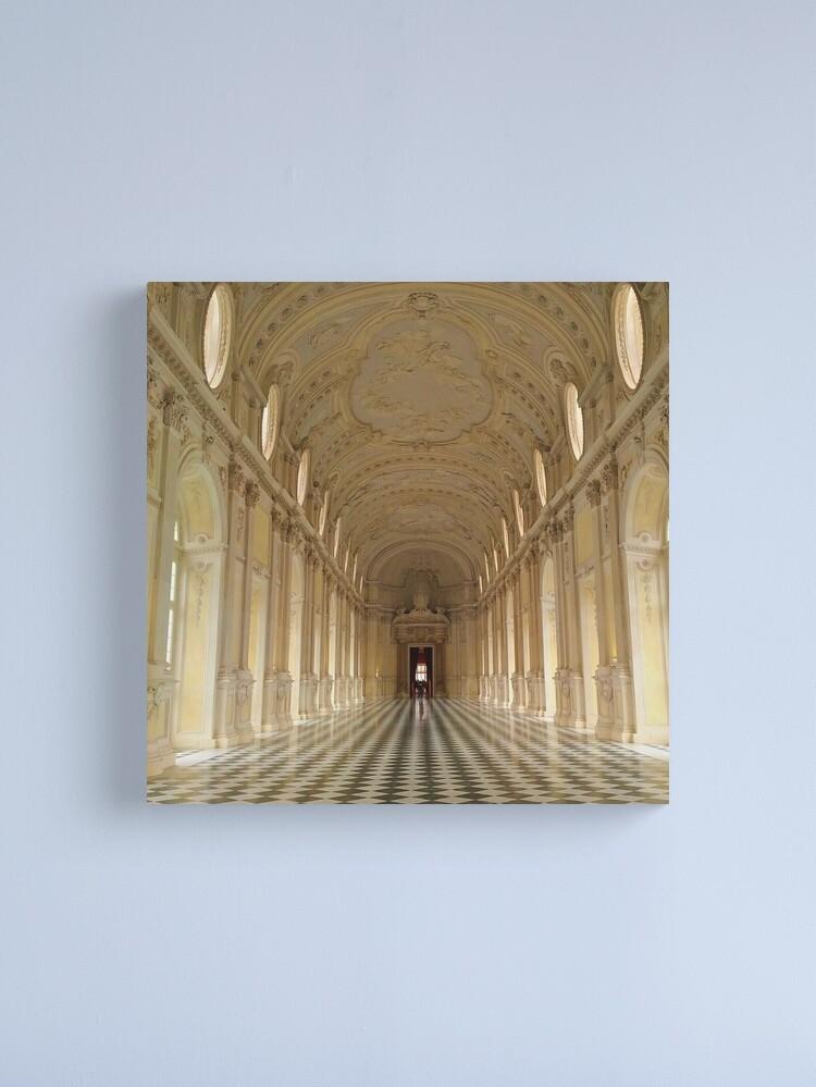 Alternate view of Venaria Palace Canvas Print