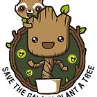 SAVE THE GALAXY, PLANT A TREE by Winston Casco