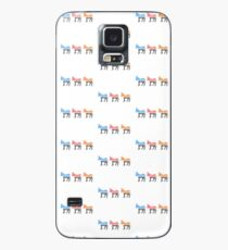 Pastel Democratic Donkeys Case/Skin for Samsung Galaxy