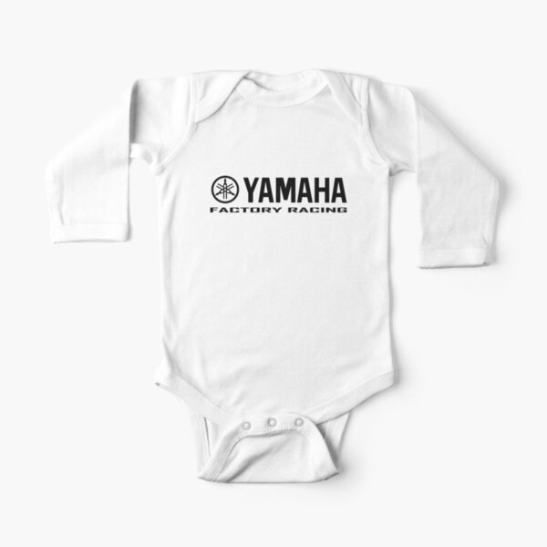 Yamaha Factory Racing Long Sleeve Baby One-Piece