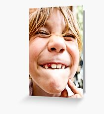 lost tooth Greeting Card