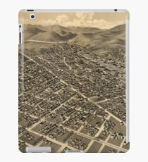 Vintage Pictorial Map of Helena MT (1890) iPad Case/Skin