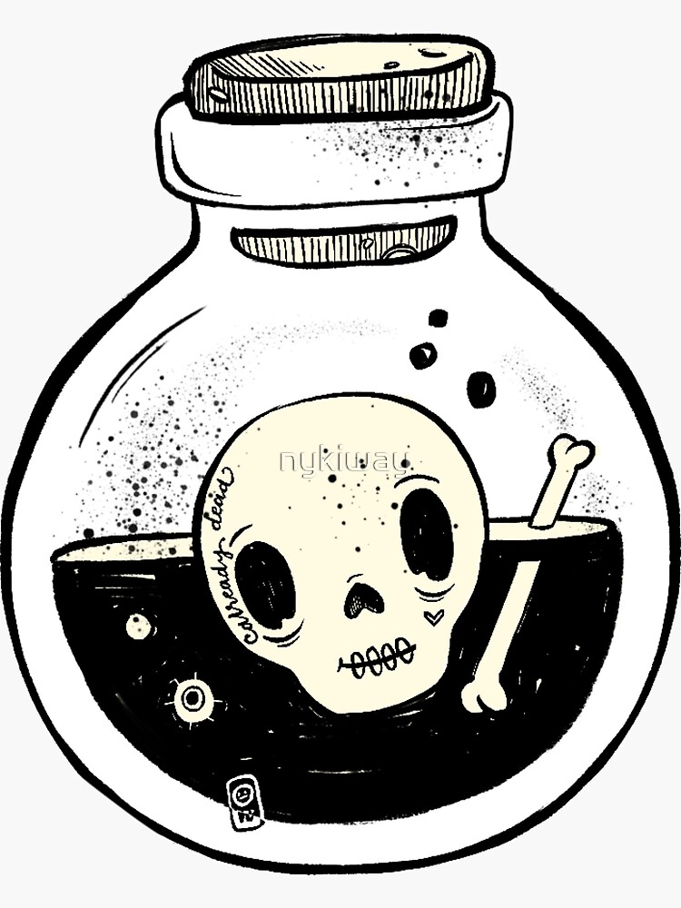 Jar of Poison by nykiway