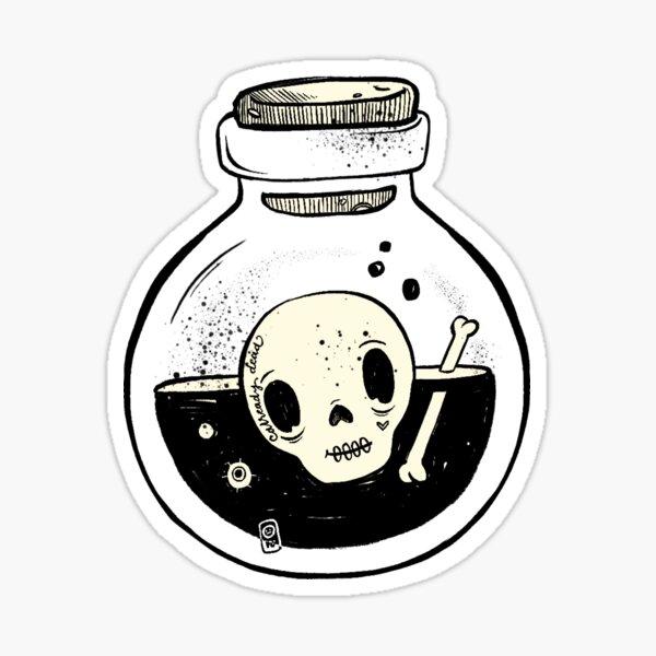 Jar of Poison Sticker