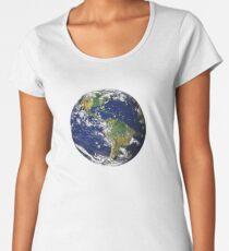 XXXTENTACION EARTH Women's Premium T-Shirt