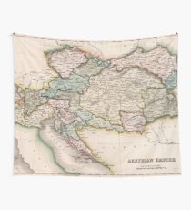 Vintage Map of Austria (1832) Wall Tapestry