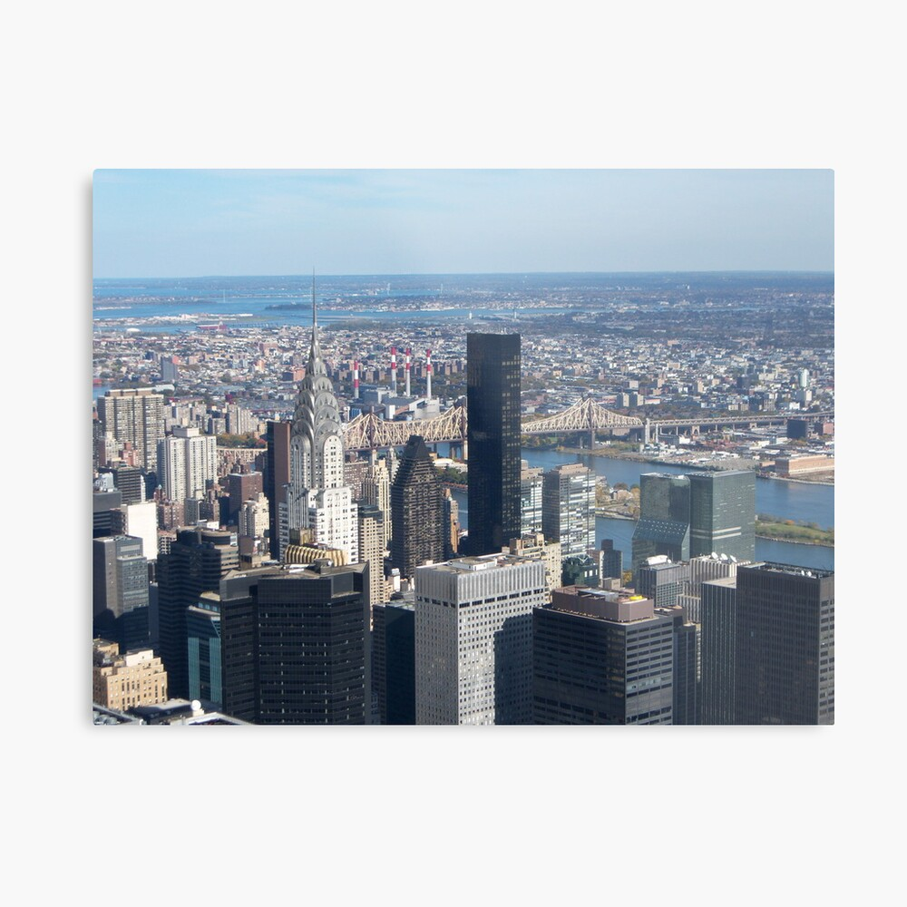 New York City Lámina metálica