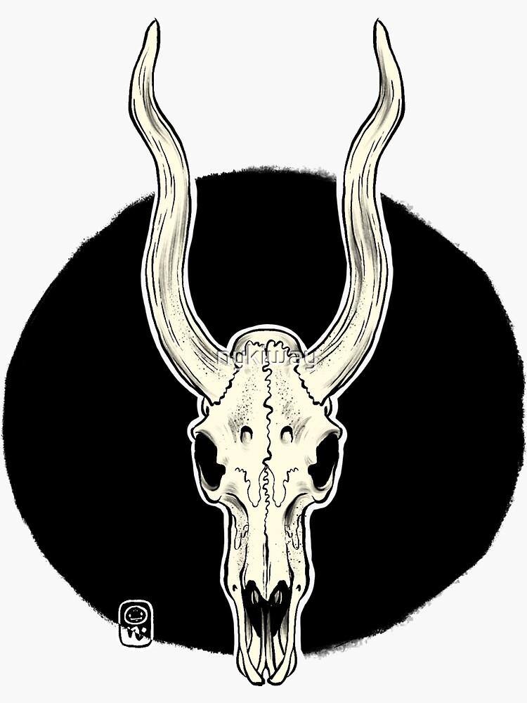Animal Skull by nykiway