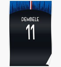 Ousmane Dembele Poster