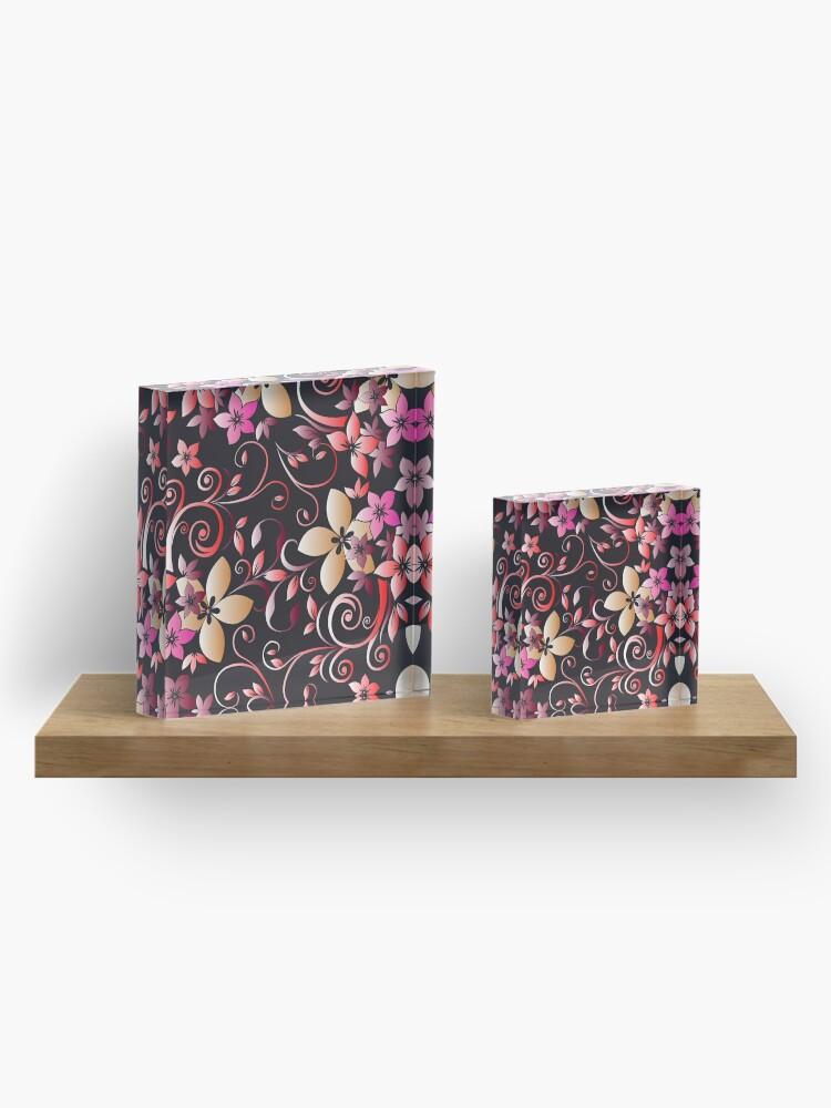 Alternative Ansicht von Blumen Tapeten 6 Acrylblock