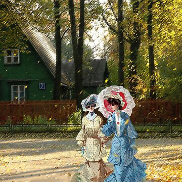 Autumn ladies. Nostalgia by maclook