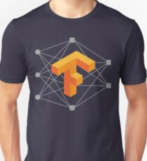 TensorFlow neuronales Netzwerk Slim Fit T-Shirt