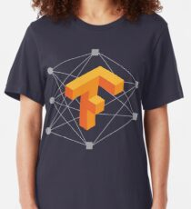 TensorFlow neural network Slim Fit T-Shirt