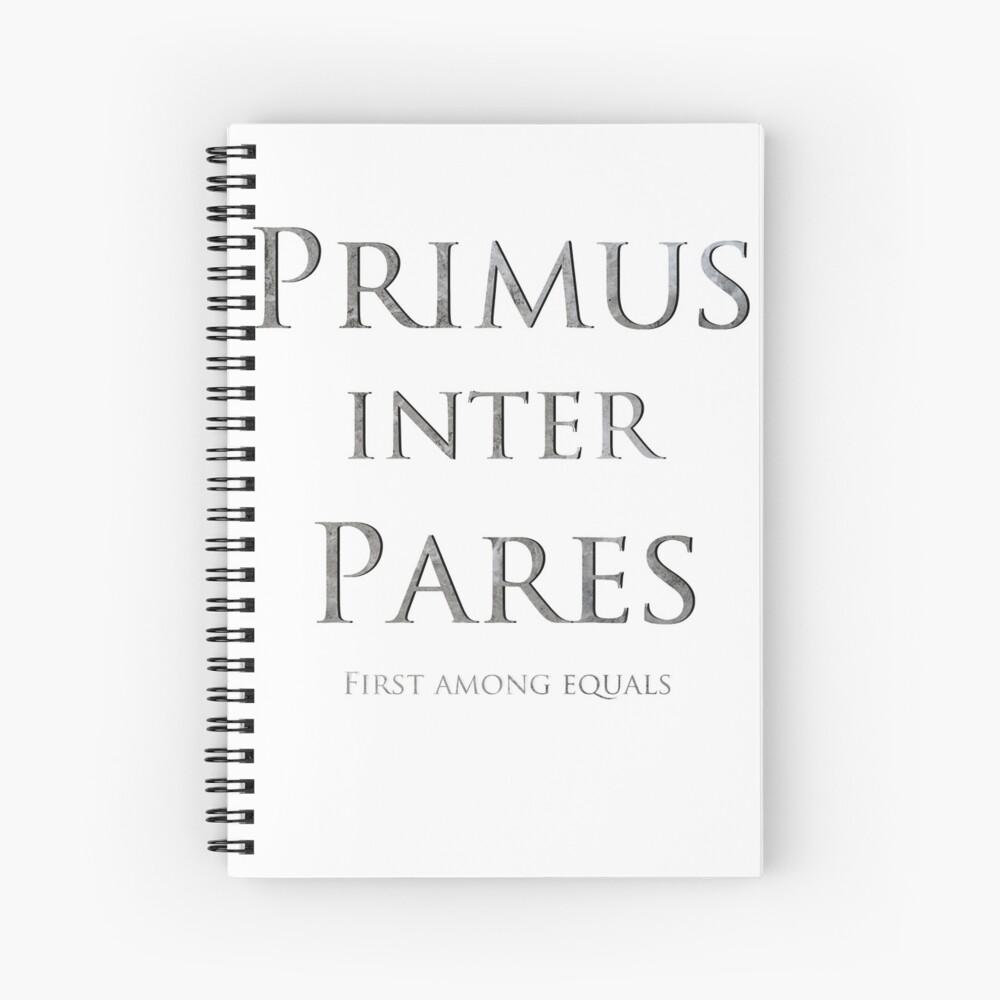 Primus inter pares Spiralblock