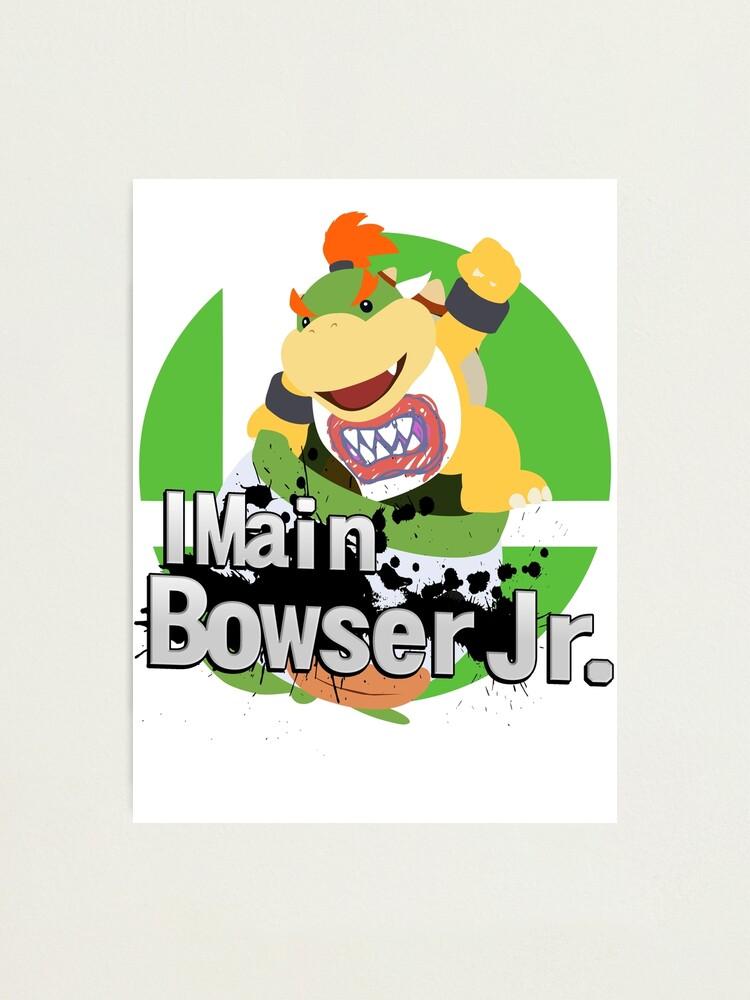 I Main Bowser Jr Super Smash Bros Ultimate Photographic Print