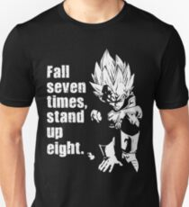 Fall Seven Times, Stand Up Eight Unisex T-Shirt