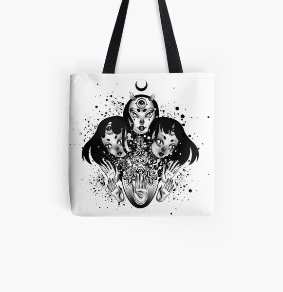 Demon All Over Print Tote Bag