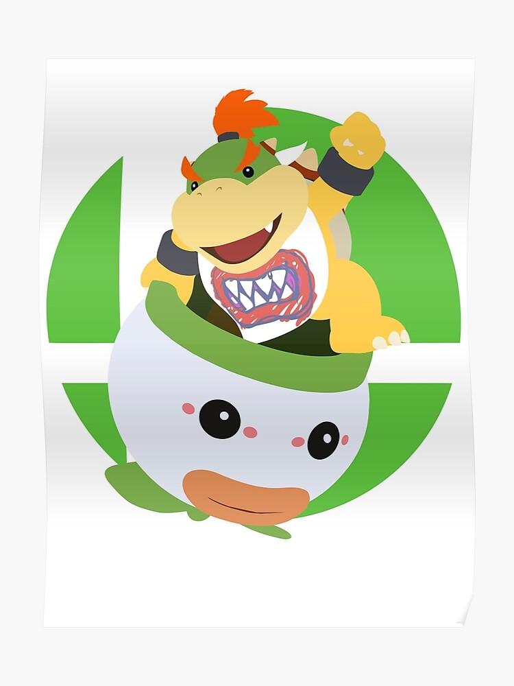 Bowser Jr Super Smash Bros Ultimate Poster