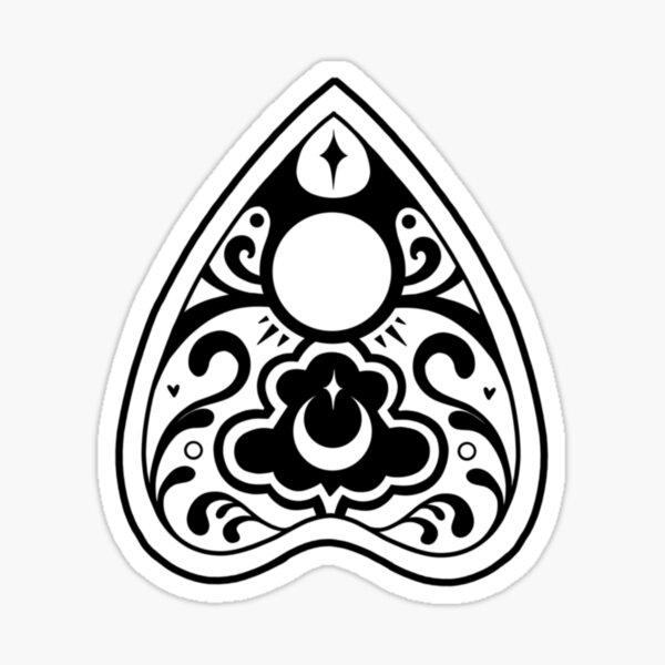 Ouija Planchette Sticker