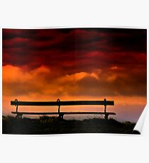 Sky Bench Poster