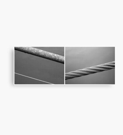 Floating Bridge (diptych 1/2) Canvas Print