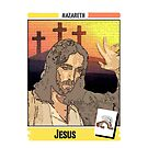 Jesus of Nazareth Playing Card by JoelCortez