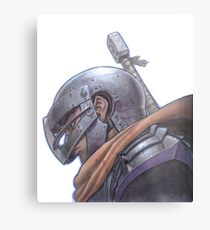 Berserker - Junge Mumm Metallbild