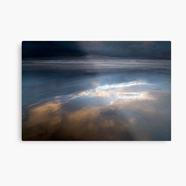 Storm Clouds Rising Metal Print