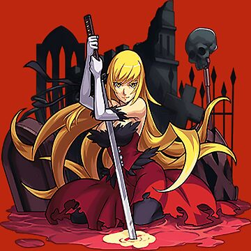 Kiss-Shot - Monogatari Series by PensiveCactus