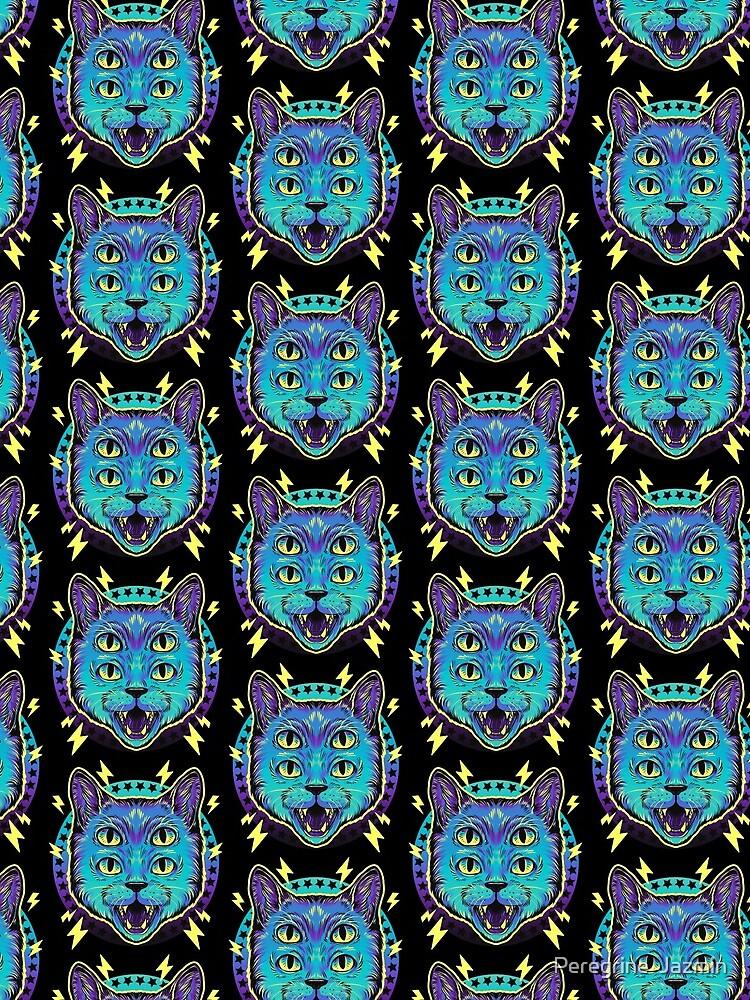 4 Eye Cat by retkikosmos