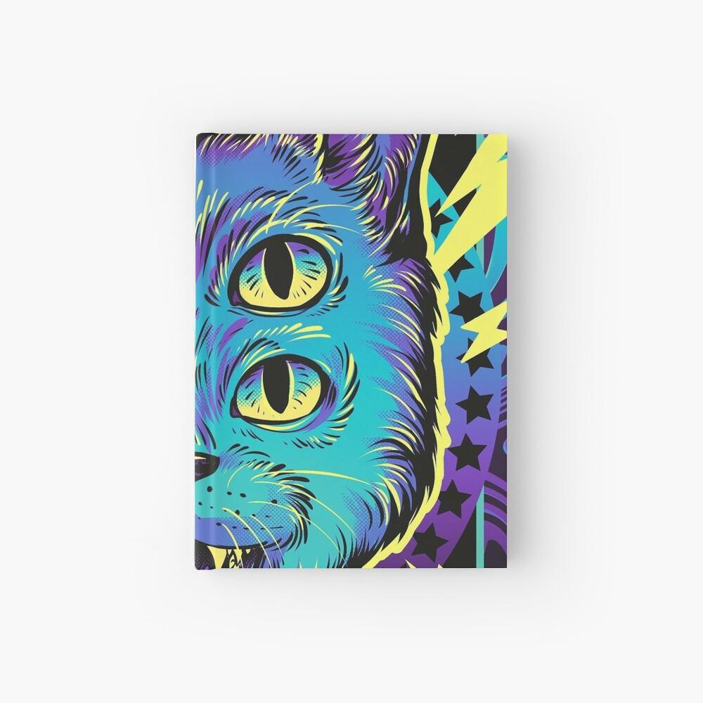 4 Eye Cat Hardcover Journal