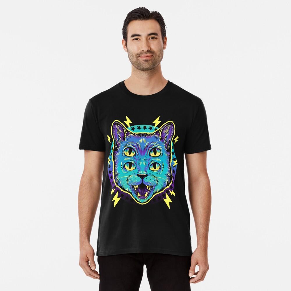 4 Eye Cat Premium T-Shirt